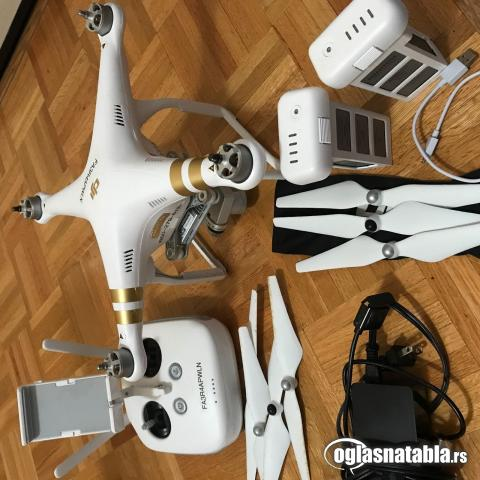 DJI Phantom 3 Professional 4K White