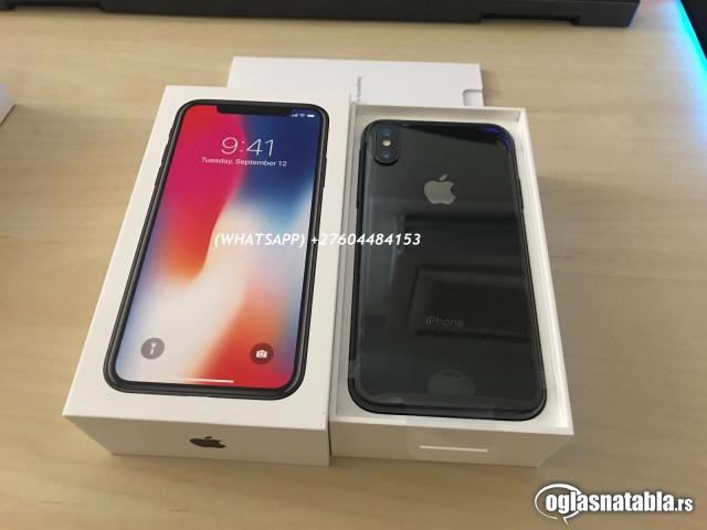 Apple iPhone X 64GB € 480 € iPhone 8 64GB 400 €